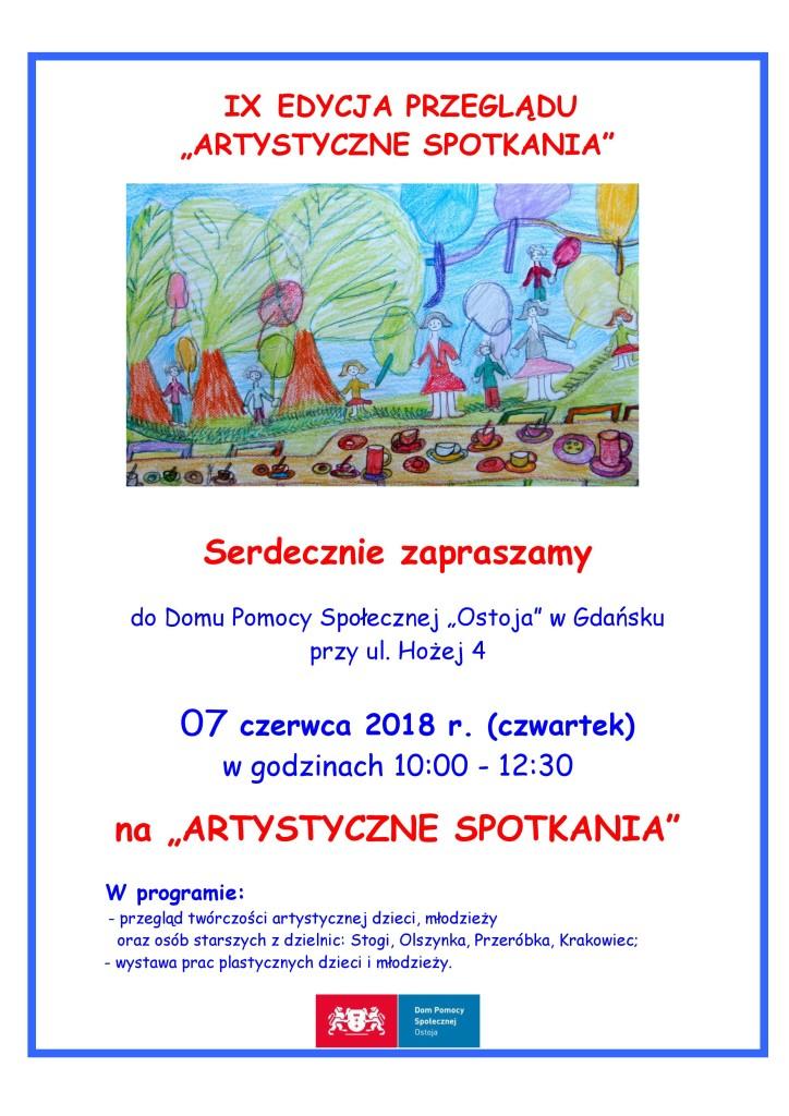 PLAKAT IX ARTYSTYCZNE SPOTKANIA_-page-001